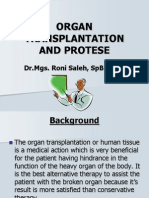 Organ Transplantation & Protese