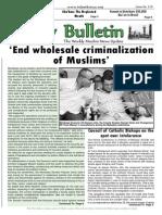Friday Bulletin 579..