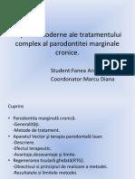 Aspecte Moderne Ale Tratamentului Complex Al Parodontitei Marginale
