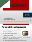Aulas de Web Marketing