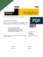 NICE Webinar Invite