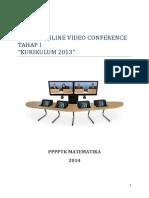 Panduan Video Conference pppptk Matematika