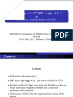 Proton Decay in SUSY GUT in Light of LHC