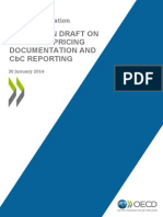 Discussion Draft Transfer Pricing Documentation