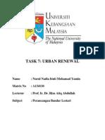 Kajang Redevelopment(Urban Renewal)