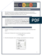 Digication Custom CSS Guide