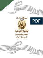 Mertz - Tarantella Op 13 No.6
