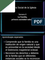 Doctrina Social de La Iglesia - Semana 8 - La Familia
