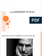 Leadership Styles Presentation