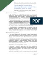 8. Declaracin de Principios Fundamentales Victimas Delitos Abuso Poder