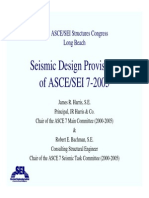 _ASCE SEI 7-2005 Seismic Design Provisions, Overview