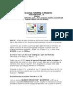 Cursos - Como Darle Formato a Windows 98 Milleinum y Nt