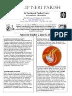 June 8th Full Bulletin
