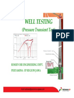 BASIC Welltesting for DST Supv