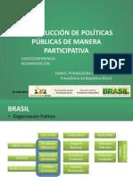 Construcción Participativa de Políticas Públicas en Brasil