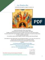 Fiche Bible 77 La Pentecôte