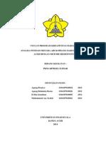 Analisa Pondasi Menara Air Darussalam Banda Aceh Dengan Metode Resistivity 2d2