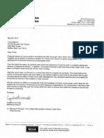 Credit Union Letter