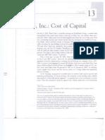 Nike inc cost of capital