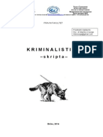OS - Kriminalistika (Skripta)