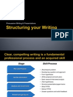 Structuring Your Writing