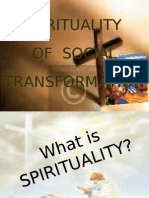 spirituality of social transformation