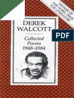 Derek Walcott - Collected Poems, 1948-1984