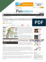 Tras 50 Años de Guerra, Las Farc Están Débiles Más No Derrotadas - Diario El Pais