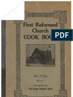 First Reformed Church Cookbook 1914