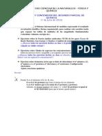 Estructura Segundo Parcial 3ª Evaluación-3ºESO