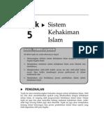 Topik 5 Sistem Kehakiman Islam