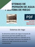 Sistemas de Microaspersión de Agua