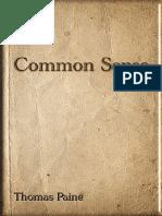 291955 Common Sense