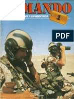 Comando Tecnicas de Combate y Supervivencia N 1