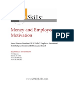 Money and Employee Motivation