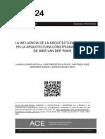 Lizondo, l.; Santatecla, j.; Martínez, s.j. y Bosch, i. La Influencia de La Arquitectura Efímer