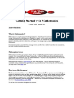 Getting Started With Mathematica & Maple