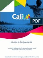 Capacitación en Planes Estratégicos de Desarrollo de Las Juntas de Acción Comunal de Santiago de Cali