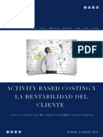 Activity Based Costing y La Rentabilidad Del Cliente