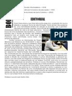 Boletim Informativo NEAB - março/abril/maio