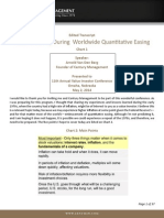 Century Management-Value Investing In A World Of Quantitative Easing