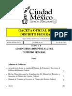 Manual de Tramites Servicios Julio 2012