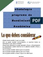 Metodologia Para El Programa...