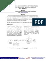 Sistem Pengendali Motor 1 Phasa Berbasis Mikro