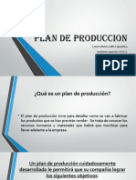Plan de Produccion