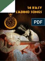 14 Easy Ladino Songs - sheet music