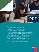 Eval Diagnóstica 4to Medio (CL)
