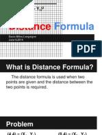 langaigned distanceformula