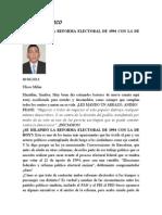 Se Dilapido La Reforma Electoral Del 94