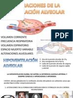 Alteraciones de La Ventilacion Alveolar